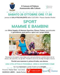 Sport mamme e bambini @ Sala Polivalente Paitone