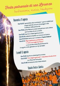San Lorenzo - festa patronale a Sonico @ Sonico | Sonico | Lombardia | Italia