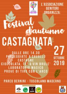 Festival d'autunno - castagnata Toscolano Maderno @ parco Benini