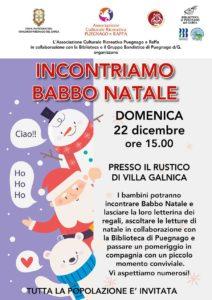 Incontriamo Babbo Natale a Puegnago @ rustico di Villa Galnica