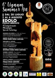 Lignum summer art @ Edolo | Edolo | Lombardia | Italia