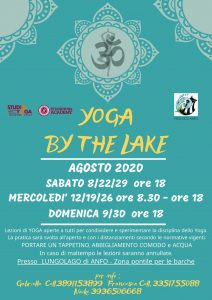 Yoga by the lake - Anfo @ zona pontile per le barche