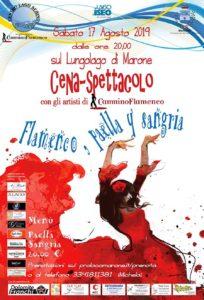 Flamento, paella y sangria - cena-spettacolo @ Lungolago di Marone