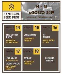 Fantecol Bier Fest 2019 @ Frazione di Fantecolo
