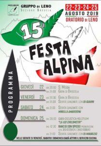 Festa alpina a Leno @ Oratorio San Luigi Leno