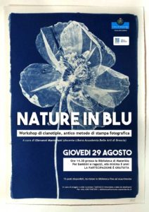 Nature in Blu: Laboratorio di Cianotipie @ Biblioteca di Manerbio