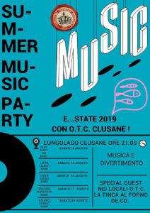 Summer Music Party a Clusane @ lungolago