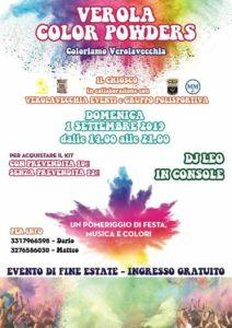 Verola color powders @ Parco Chiosco