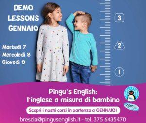 Demo lesson per provare Pingu's English Brescia @ Pingu's English Brescia