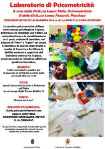 Laboratorio di psicomotricità a Palazzolo @ Spazio Crescendo Insieme