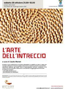 L'arte dell'intreccio @ Progetto Internazionale Libera Scuola Waldorf Brescia   Rodengo-Saiano   Lombardia   Italia