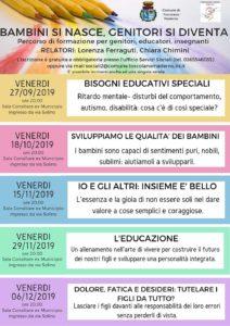 Bambini si nasce, genitori si diventa @ Sala Consiliare Ex Municipio Toscolano Maderno