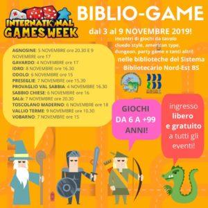 Bibliogame Agnosine @ Biblioteca di Agnosine | Agnosine | Lombardia | Italia
