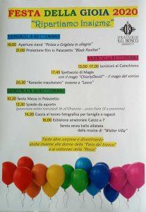 Festa della Gioia a Gardone Val Trompia @ Oratorio Gardone Val Trompia   Gardone Val Trompia   Lombardia   Italia