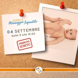 Corso di massaggio infantile @ Poliambulatorio San Pietro