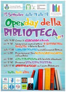 Open day biblioteca di Prevalle @ biblioteca di Prevalle