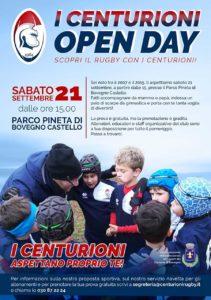 OPEN DAY! Prova il rugby con noi! @ Parco Pineta di Bovegno Castello
