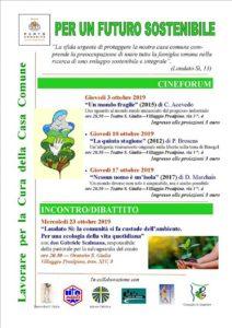 Per un futuro sostenibile @ Teatro Santa Giulia