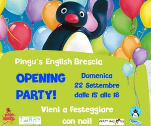 Opening party - Pingu's English Brescia @ Pingu's English Brescia