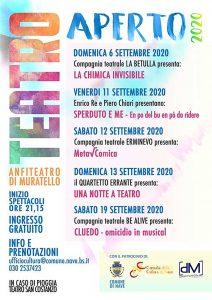 Teatro Aperto a Nave @ Anfiteatro di Muratello