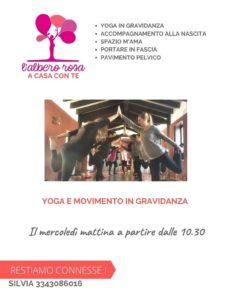 Yoga e movimento in gravidanza con Albero Rosa @ La Tenda della Luna & Yoga Purnima | Brescia | Lombardia | Italia