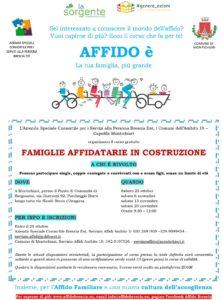 Famiglie Affidatarie in costruzione @ Servizio Affidi Ambito 10 e Servizio Affidi Ambito 3 | Castenedolo | Lombardia | Italia
