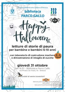 Happy Halloween @ Biblioteca parco Gallo