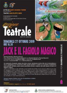 Jack e il Fagiolo Magico @ Teatro San Filippo