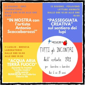 Laboratori di teatro e artistici per bambini con ARTeCREA @ vedi testo | Iseo | Lombardia | Italia