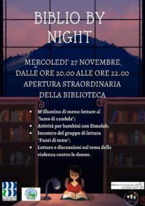 Biblio by night - Sabbio Chiese @ Biblioteche Sabbio Chiese | Sabbio Chiese | Lombardia | Italia