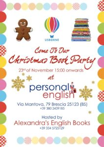 Christmas Book Party @ Personal English