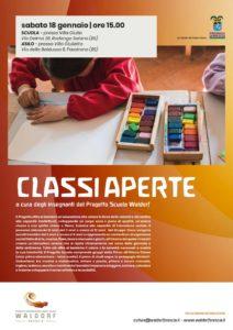 Classi aperte @ Progetto Internazionale Libera Scuola Waldorf Brescia   Rodengo-Saiano   Lombardia   Italia