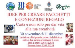 Idee per creare pacchetti regalo alla biblioteca di Salò @ Biblioteca Salò | Salò | Lombardia | Italia