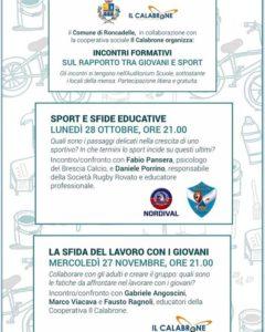 Giovani e sport @ Auditorium scuole medie