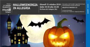 Halloweenergia in allegria @ Musil Museo dell'Energia Idroelettrica Cedegolo