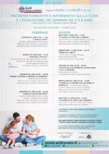 Incontri informativi e formativi per genitori @ sede Acli Rovato