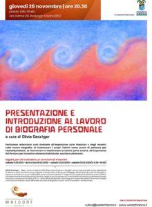 Il lavoro di Biografia @ Progetto Internazionale Libera Scuola Waldorf Brescia | Rodengo-Saiano | Lombardia | Italia