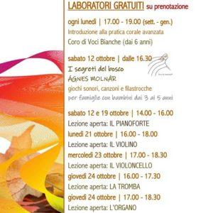 Laboratori musicali e open day per bambini @ Fondazione Diocesana Santa Cecilia | Brescia | Lombardia | Italia