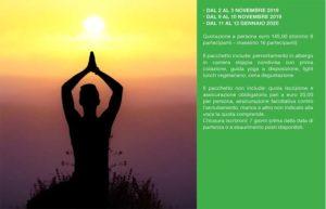 Meditazione yoga nella natura con Linfainmovimento @ Al Poggio Verde