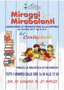 Miraggi Mirabolanti @ Biblioteca di Orzinuovi | Orzinuovi | Lombardia | Italia