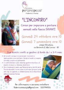 L'incontro - corso per imparare a portare davanti @ Bionatura | Villa Carcina | Lombardia | Italia