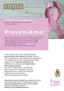 PreveniAmo! @ Civitas di Concesio – via Sabin, 3