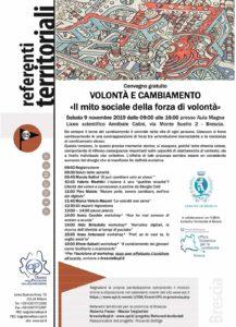 Volontà e cambiamento @ Liceo scientifico Annibale Calini