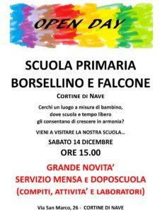 Open day scuola a Cortine di Nave @ Scuola Borsellino e Falcone Nave