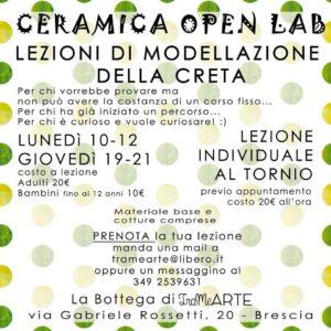 Ceramica openlab @ TrameArte