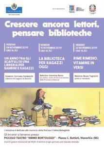 Crescere ancora lettori. Pensare biblioteche @ Piccolo Teatro Bortolozzi
