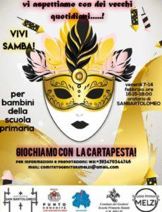 Giochiamo con la cartapesta @ Oratorio di San Bartolomeo Brescia