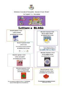 Letture a Bi.Bliò @ Bi.bliò Biblioteca dei piccoli