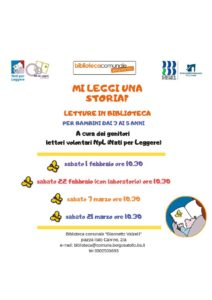 Nati per Leggere a Borgosatollo @ Biblioteca Borgosatollo | Borgosatollo | Italia