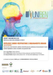 UNIBEN - Patologie cardio-respiratorie e inquinamento urbano: come difendersi? @ Aula Magna scuola Secondaria